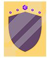 Magischer Schild der Heldin Zena